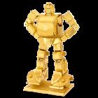 Metal Earth Transformers, Bumblebee, zlatá edice