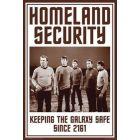 Star Trek poster, Homeland Security