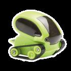 Tankbot, minitank do USB, zelený