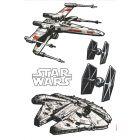 Star Wars, samolepky na zeď XXL