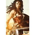 DC comics, Wonder Woman s mečem, plakát