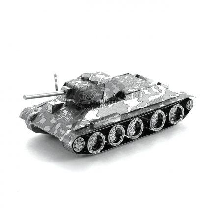 Metal Earth tank T-34 kovový model