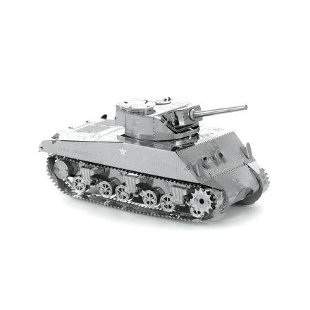 Metal Earth tank Sherman kovový model