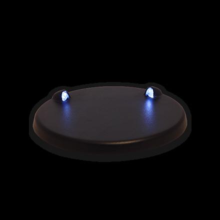 Led Base modrý, osvětlený stojánek na model