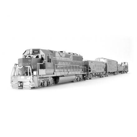 Metal Earth nákladní vlak se 4 vagony, dárkové balení