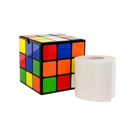 Rubikova kostka na toaletní papír