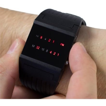 Binární hodinky pro začátečníky