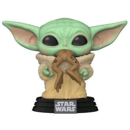 Star Wars, The Mandalorian POP! The Child s žábou figurka 9 cm