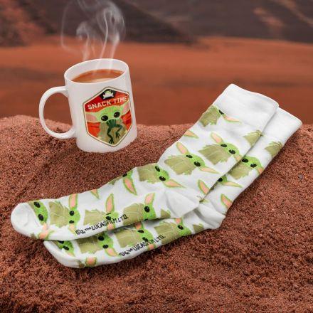 Star Wars, The Mandalorian, The Child, set hrnek a ponožky
