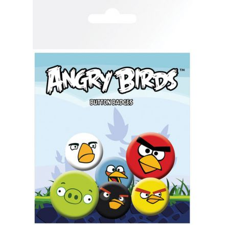 Angry Birds Faces, odznaky