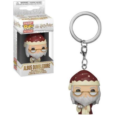 Harry Potter POP! přívěšek Holiday Albus Brumbál 4 cm