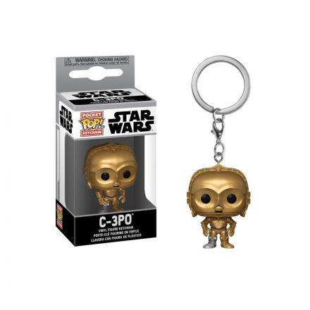 Star Wars POP! přívěšek C-3PO 4 cm