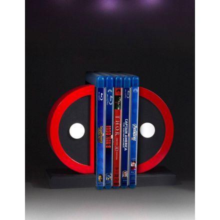 Marvel, Logo Deadpool, knižní zarážky 16 cm