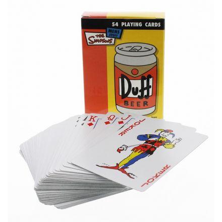 Simpsonovi, hrací karty