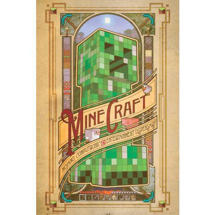 Minecraft Computronic, plakát