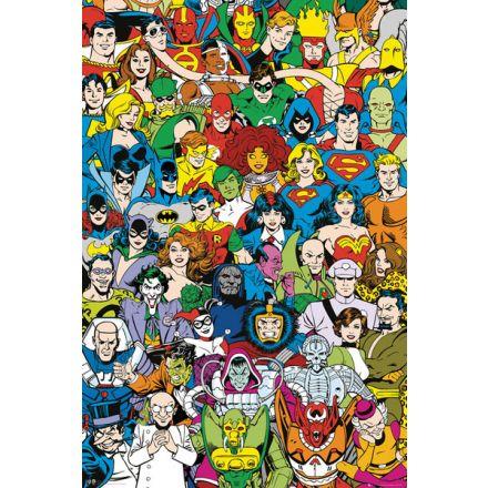 DC Comics Retro Cast, plakát