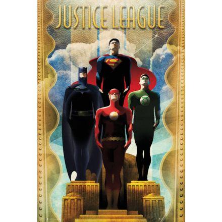 DC Comics Team Art Deco, plakát