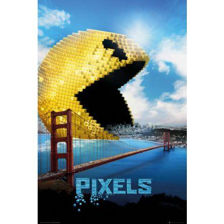 Pixels Pacman, plakát