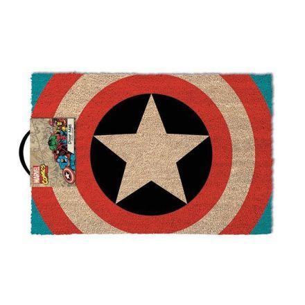 Captain America, logo, rohožka