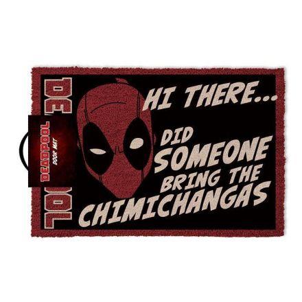 Deadpool, Hi There.... , rohožka