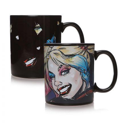 DC Comics, Harley Quinn, měnící se hrnek