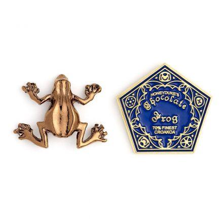 Harry Potter, Čokoládová žabka, odznáčky (2ks)