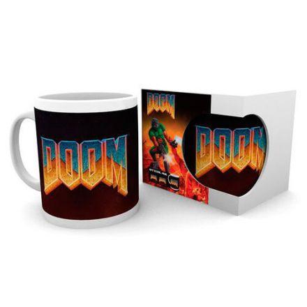 Doom, Classic Logo, hrnek