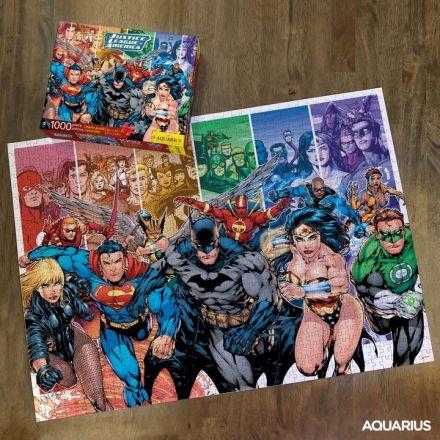 DC Comics, Justice League, puzzle (1000 ks)