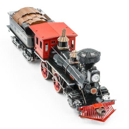 Metal Earth, Divoký západ, lokomotiva 4-4-0