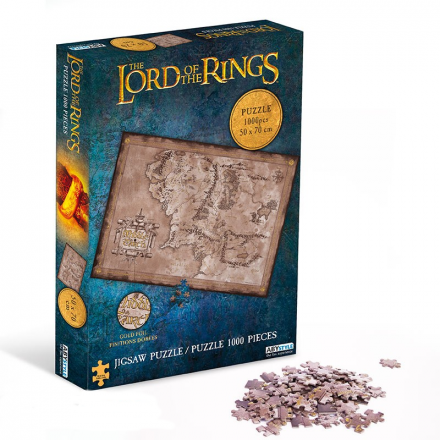 Lord of the Rings, Středozem, puzzle (1000 ks)