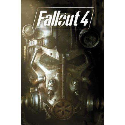 Fallout 4, Mask tesla armor, plakát