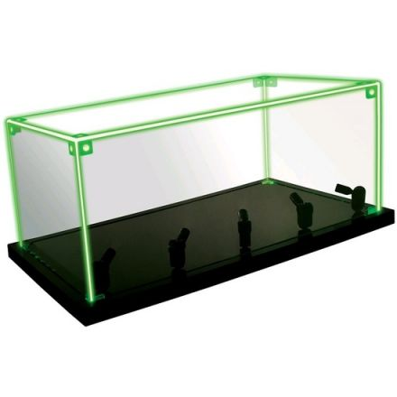 Metal Earth, akrylová LED vitrína s dálkovým ovládáním, 35 x 20,3 x 15,2 cm