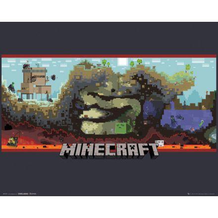Minecraft Underground, plakát