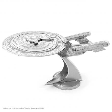 Metal Earth Star Trek kovový model Enterprise NCC-1701D
