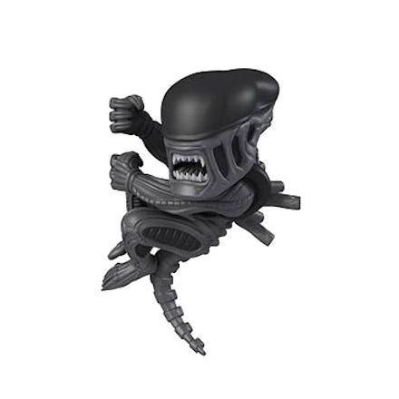 Alien co visí, figurka 9 cm