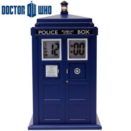 Dr. Who, Tardis, budík