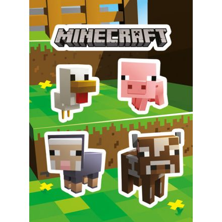 Minecraft Animals, samolepky