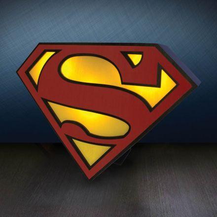 DC Comics, Superman logo, USB lampa