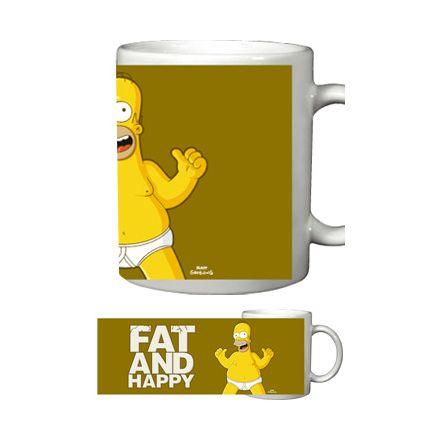 Simpsonovi Fat & Happy, hrnek