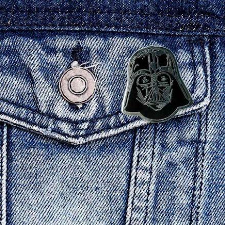 Star Wars, Darth Vader, kovový odznáček