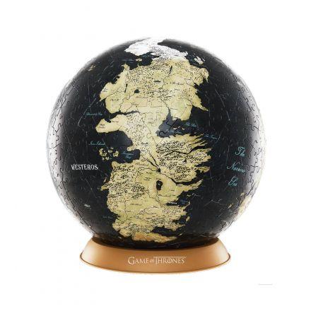 Game of Thrones, Unknown World, 3D globus puzzle (240 ks)