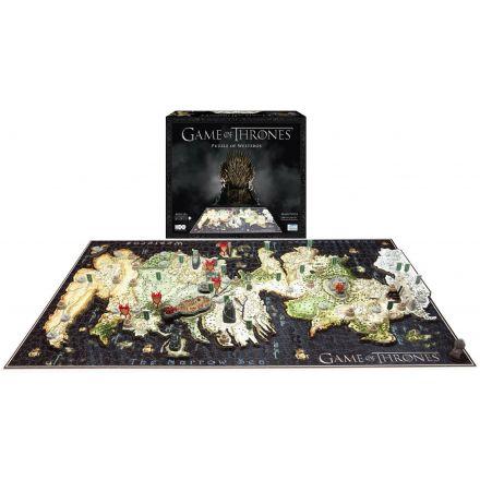Game of Thrones, Západozemí, 3D puzzle (1500 ks)