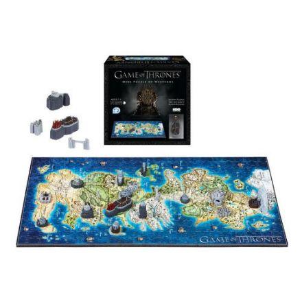 Game of Thrones, mini Západozemí, 3D puzzle (340 ks)
