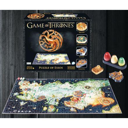 Game of Thrones, Essos, 3D puzzle (1350 ks)