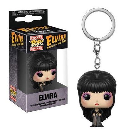 Elvira Mistress of the Dark POP! přívěšek Elvira 4 cm