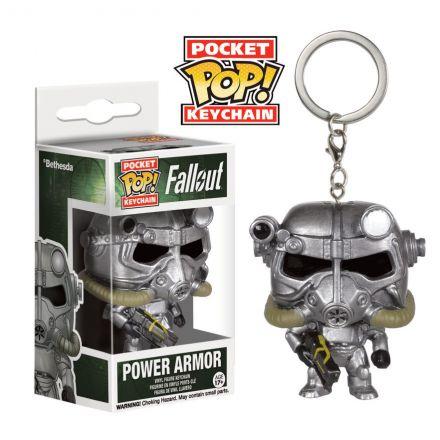 Fallout 4 POP! přívěšek Power armor 4 cm