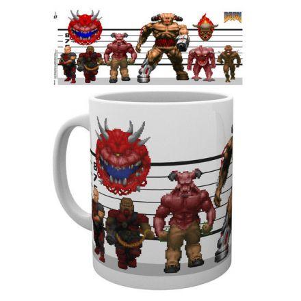 Doom, Classic Enemies, hrnek