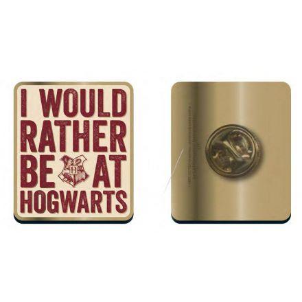 Harry Potter, Bradavický slogan, odznak