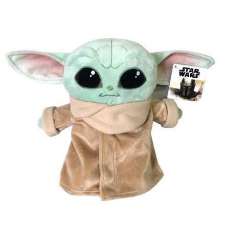 Star Wars, The Mandalorian, Baby Yoda, plyšák 25 cm