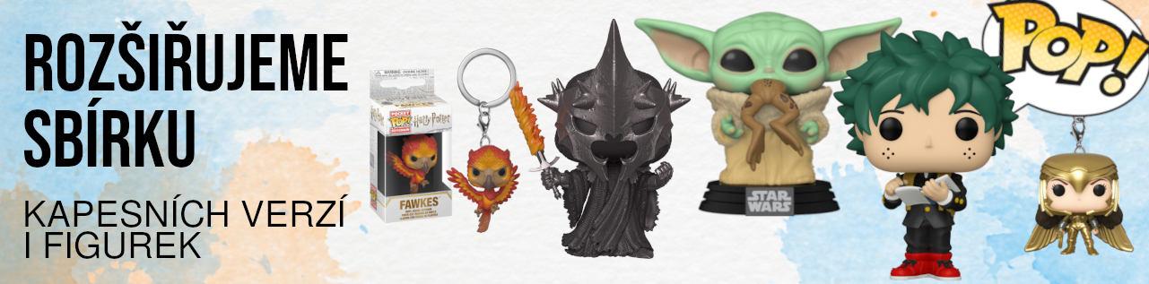 POP! figurky i mini verze na klíče